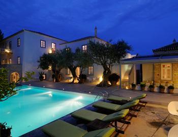 Orloff Resort Pool Spetses
