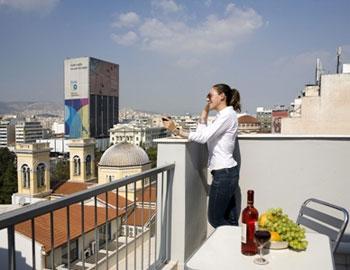 Piraeus Dream City Hotel Balcony Executive Room Piraeus