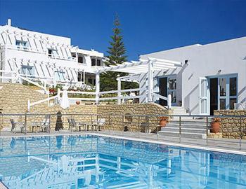 Perigiali Hotel Pool Skyros