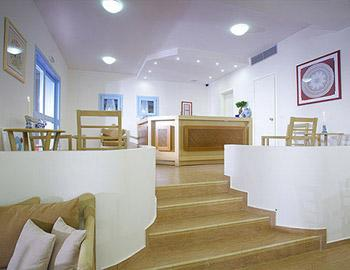 Perigiali Hotel Reception Skyros