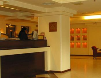 Vergina Hotel Reception Thessaloniki