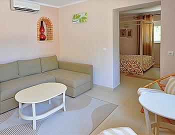 Paxos Beach Hotel Junior Bungalow Suite Gaios
