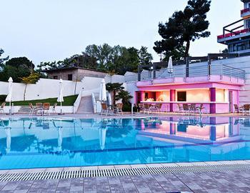 Olympus Thea Boutique Hotel Pool Bar Platamonas