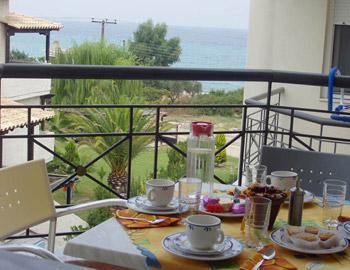 Sun Residence Balcony Polihrono