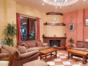 San Nectarios Hotel Sitting Room Parga