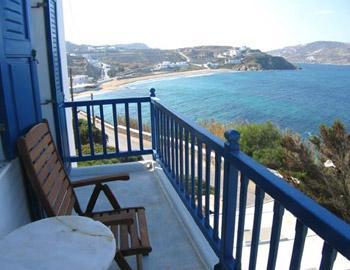 Adonis Ηotel Room View Mykonos