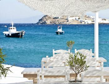 Aphrodite Beach Hotel Restaurant Kalafatis