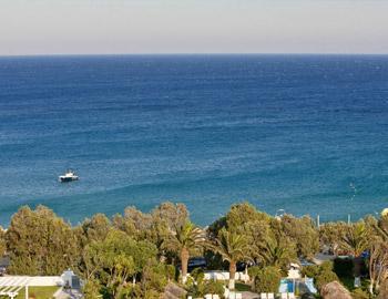 Aphrodite Beach Hotel View Kalafatis