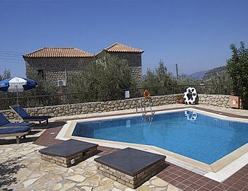 Olympia Villas Executive Villa Stoupa
