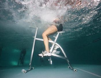 Villa Thomais Luxury Living-Aqua Gym & Spa Underwater gym bicycle Episkopos Nikiana