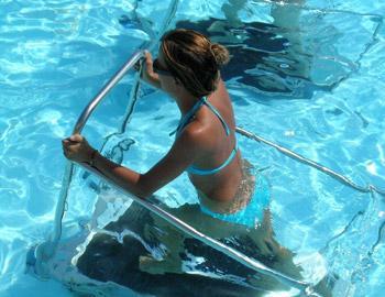 Villa Thomais Luxury Living-Aqua Gym & Spa Underwater running gym Episkopos Nikiana